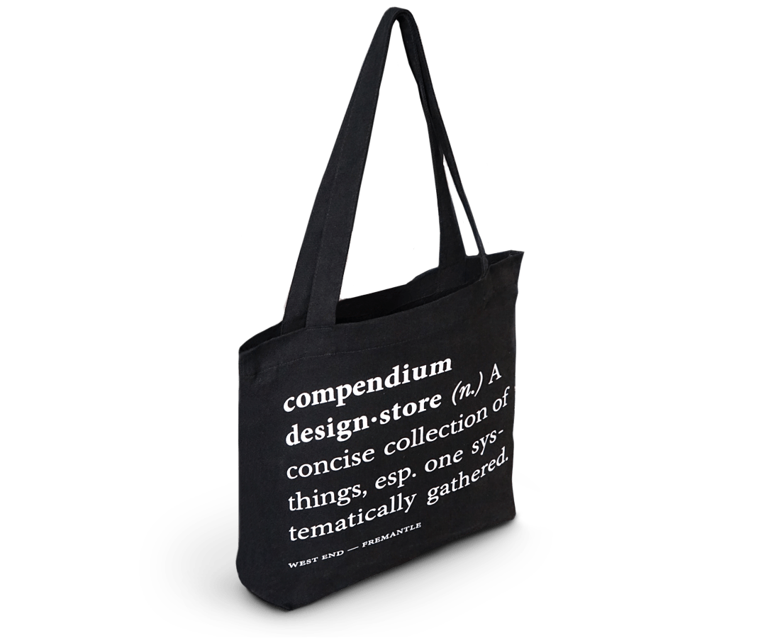 Compendium Design Store Tote Bag Black
