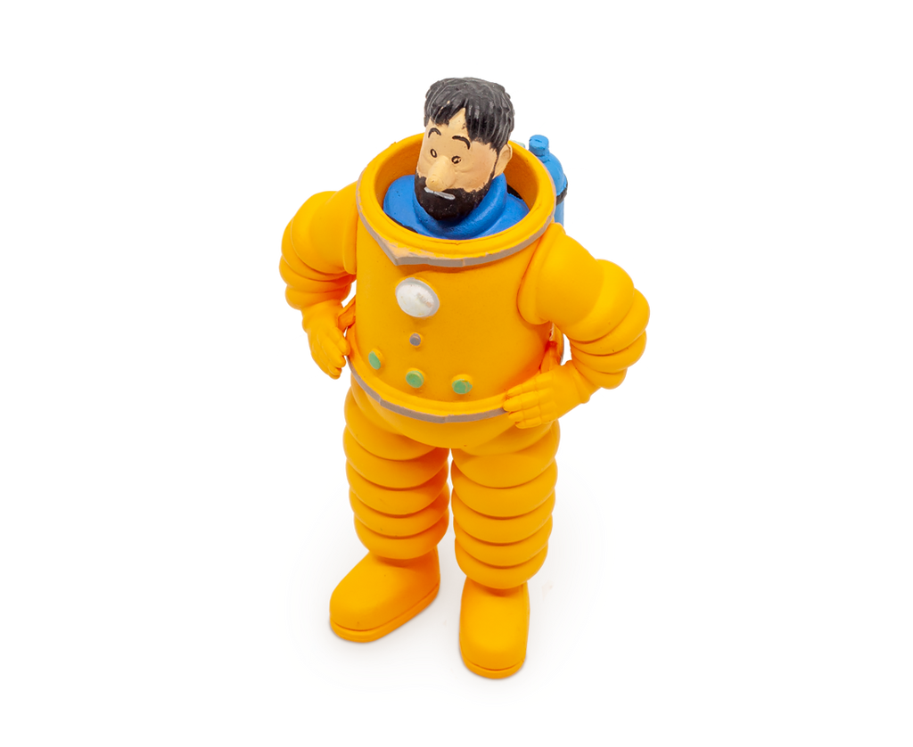 Captain Haddock Cosmonaute (Large) PVC Figurine. Compendium Design Store, Fremantle. AfterPay, ZipPay accepted.