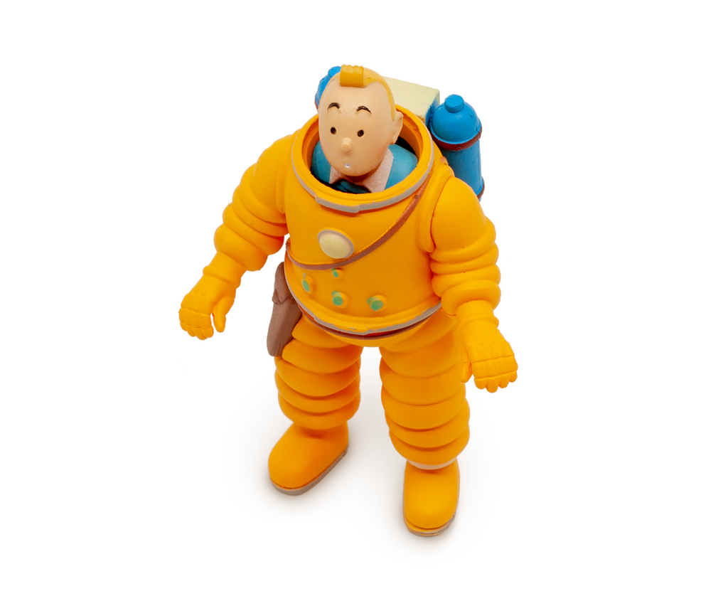 Tintin Cosmonaute PVC Figurine. Compendium Design Store, Fremantle. AfterPay, ZipPay accepted.
