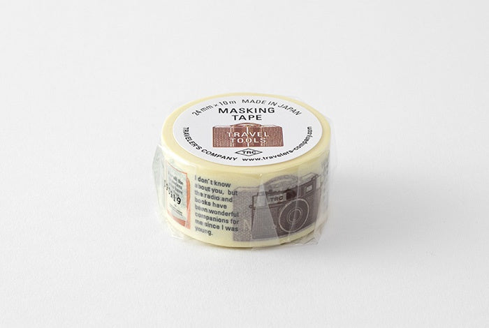 Travelers Company Japan Ltd Ed. 'Travel Tools' · Masking Tape. Compendium Design Store, Fremantle. AfterPay, ZipPay accepted.