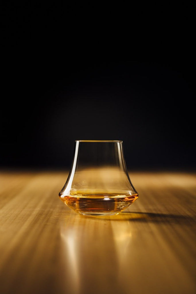 Whiskey Glass by Denver Liely. Compendium Design Store, Fremantle. AfterPay, ZipPay accepted.