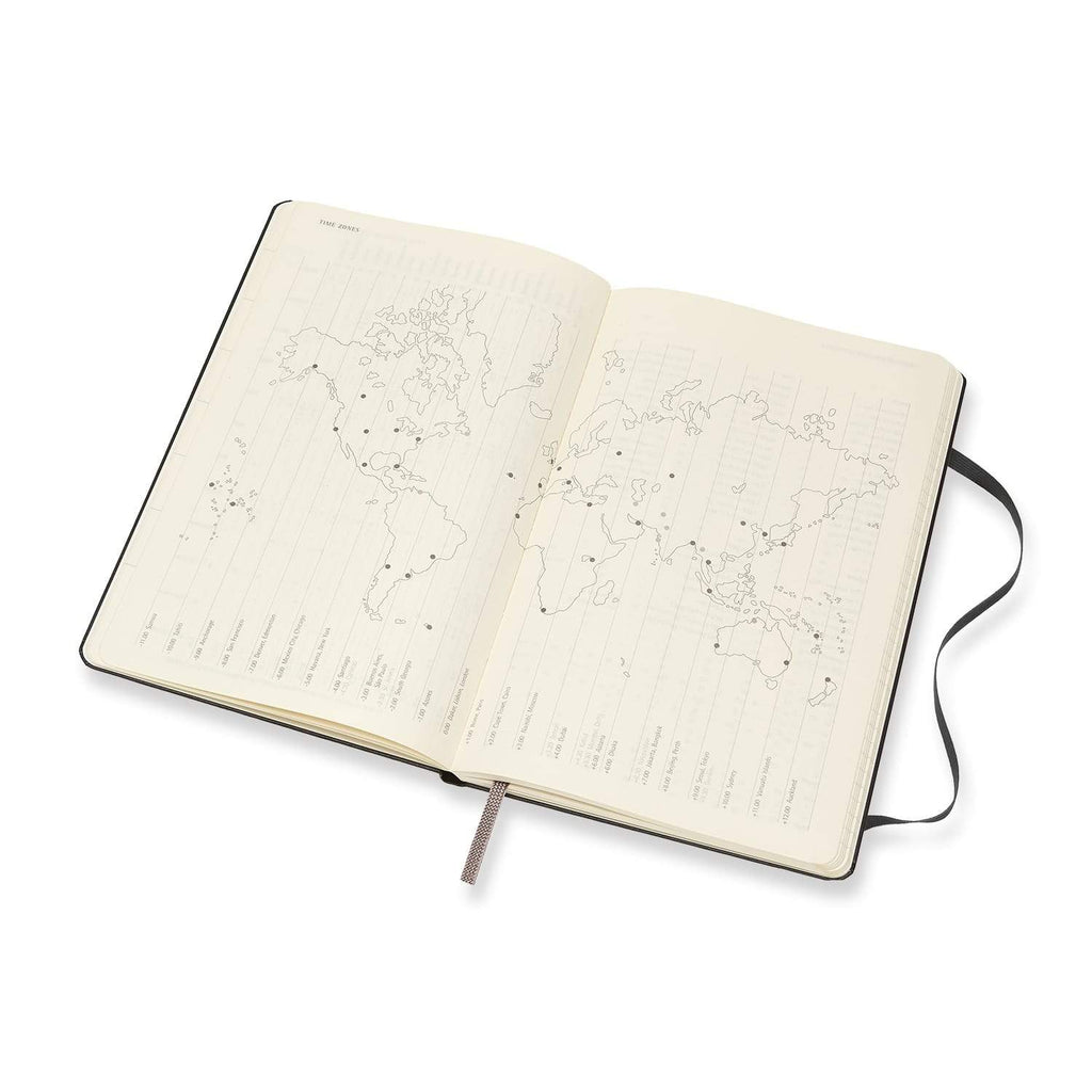 Moleskine 2018 Soft Cover Diary Weekly Notebook Large Black