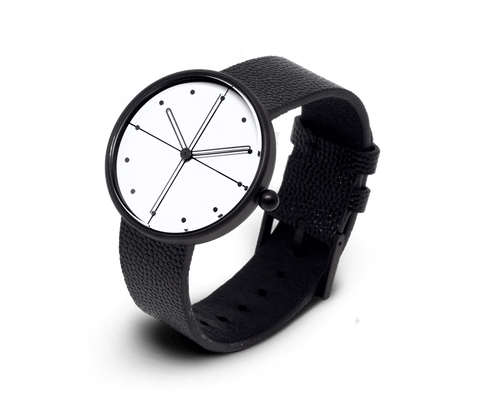 Aark Collective Dome unisex watch in Black & White. Aark Collective. Compendium Design Store. AfterPay, ZipPay accepted.