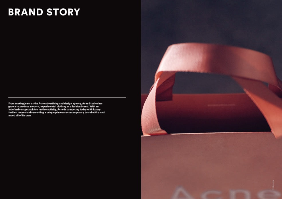 Brand Documentary Magazine No 61 Acne Studios. Compendium Design Store, Fremantle. AfterPay, ZipPay accepted.