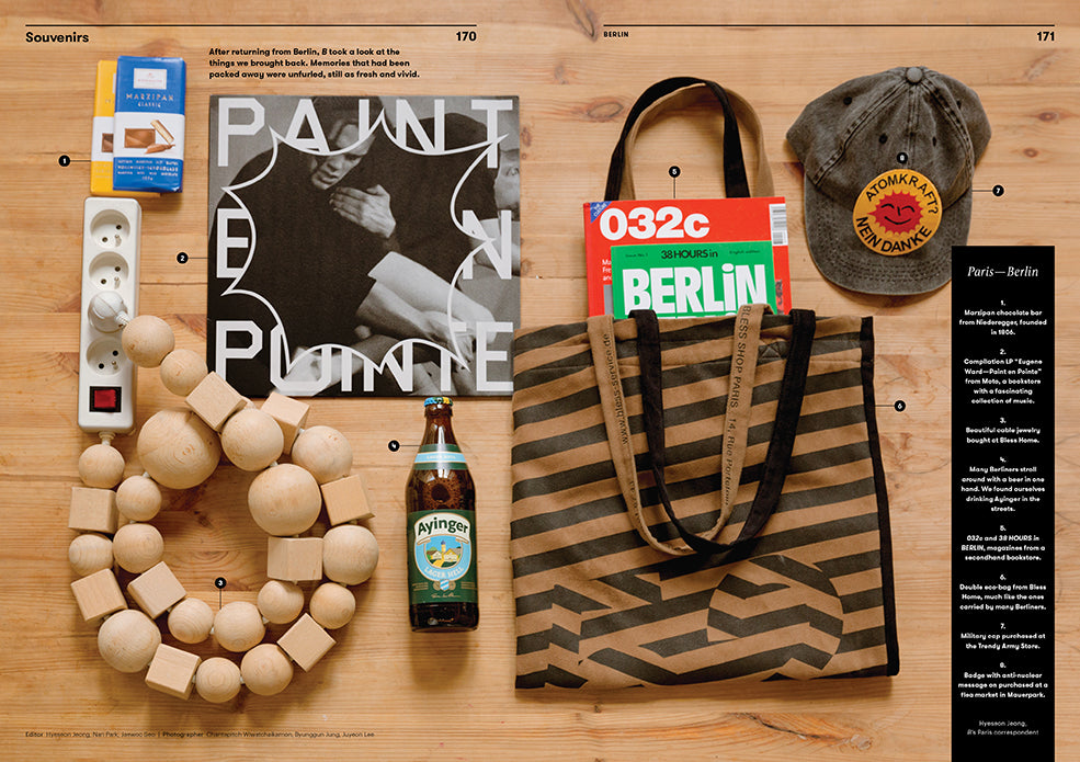 Brand Documentary Magazine No 43 Berlin. Compendium Design Store, Fremantle. AfterPay, ZipPay accepted.