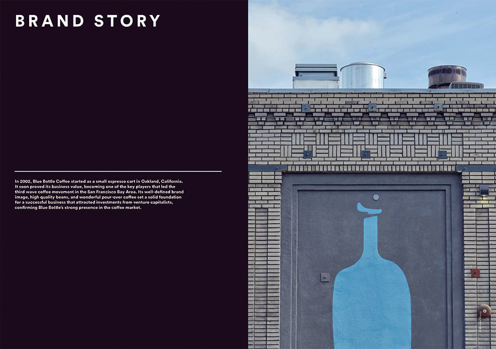 Brand Documentary Magazine No 76 Blue Bottle Coffee. Compendium Design Store, Fremantle. AfterPay, ZipPay accepted.