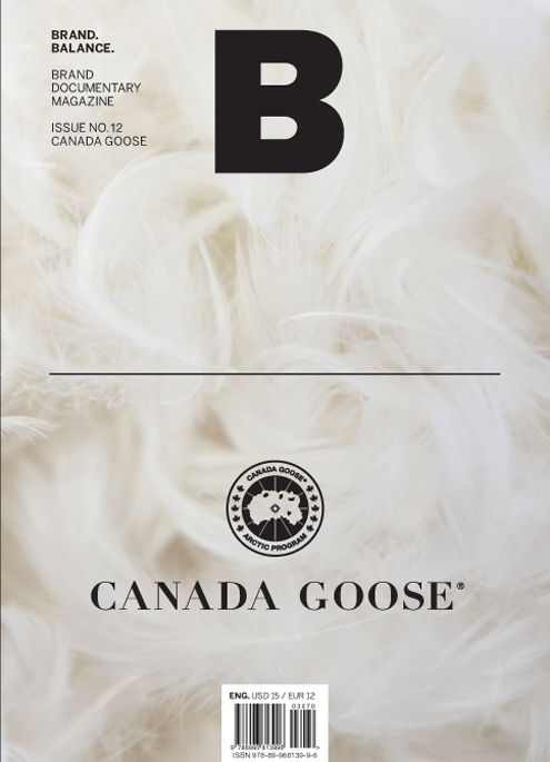 Brand Documentary Magazine No 12 Canada Goose. Compendium Design Store, Fremantle. AfterPay, ZipPay accepted.