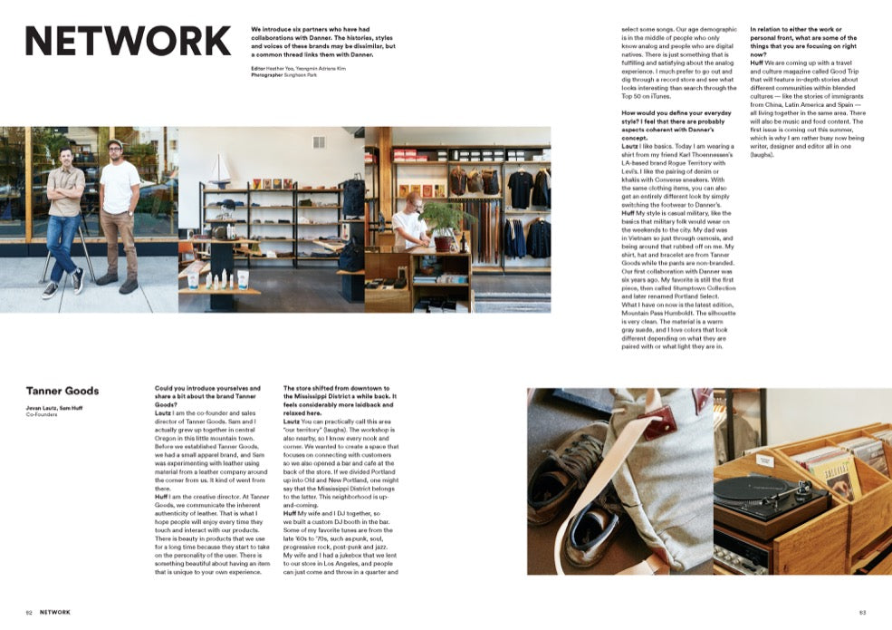 Brand Documentary Magazine No 59 Danner. Compendium Design Store, Fremantle. AfterPay, ZipPay accepted.