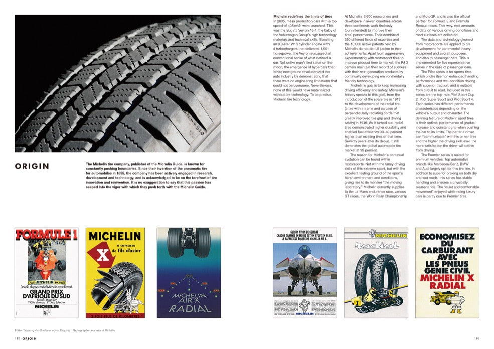 Brand Documentary Magazine No 56 Michelin Guide. Compendium Design Store, Fremantle. AfterPay, ZipPay accepted.