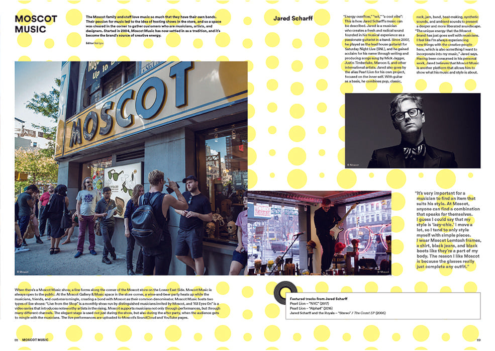 Brand Documentary Magazine No 64 Moscot. Compendium Design Store, Fremantle. AfterPay, ZipPay accepted.
