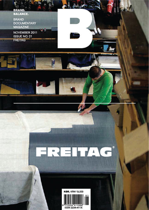 Brand Documentary Magazine No 01 Freitag. Compendium Design Store, Fremantle. AfterPay, ZipPay accepted.