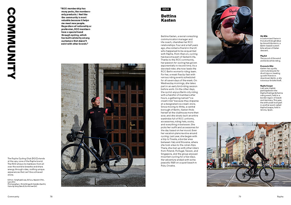 Brand Documentary Magazine No 84 Rapha. Compendium Design Store, Fremantle. AfterPay, ZipPay accepted.