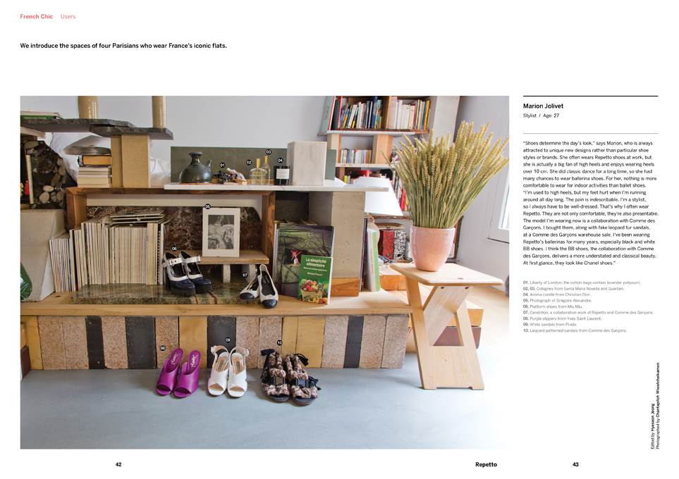 Brand Documentary Magazine No 24 Repetto. Compendium Design Store, Fremantle. AfterPay, ZipPay accepted.