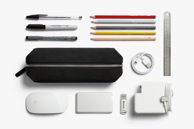 Bellroy Pencil Case Plus. Bellroy. Compendium Design Store. AfterPay, ZipPay accepted.