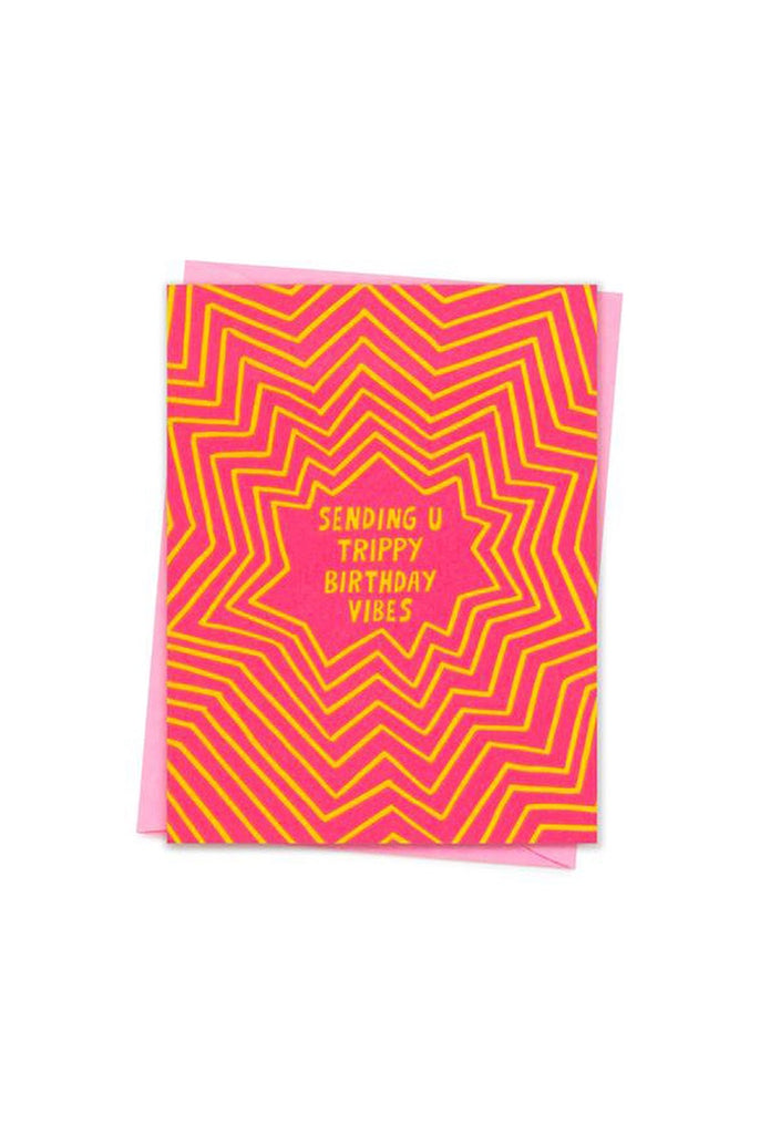 Sending You Trippy Birthday Vibes. Compendium Design Store, Fremantle. AfterPay, ZipPay accepted.