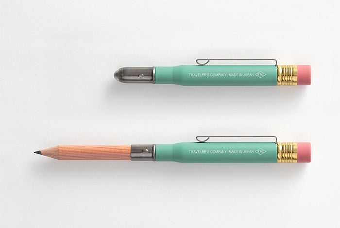 Traveler's Company Japan Brass Pencil Green Edition