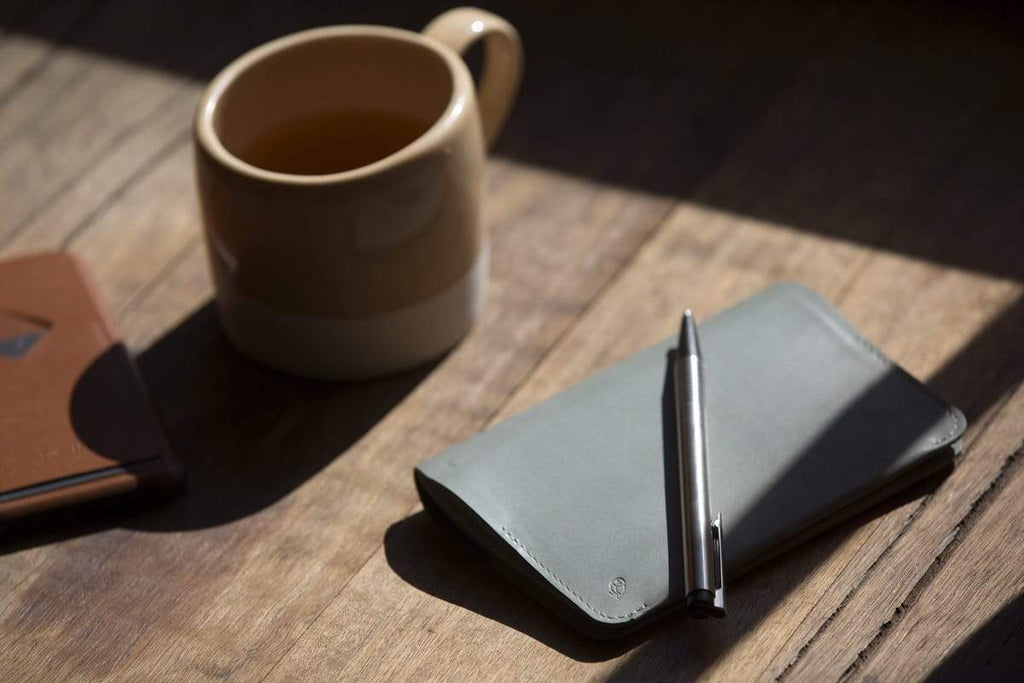 Bellroy leather Passport Size Notebook Cover. Bellroy. Compendium Design Store. AfterPay, ZipPay accepted.
