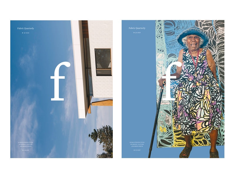 Fabric Quarterly Magazine Issue 9. Compendium Design Store, Fremantle. AfterPay, ZipPay accepted.