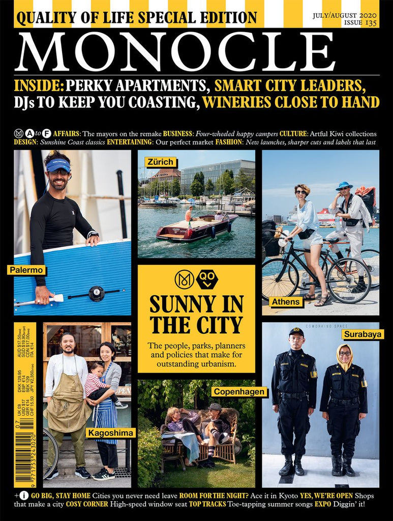 Monocle Magazine · Issue 135 July/August 2020. Compendium Design Store, Fremantle. AfterPay, ZipPay accepted.