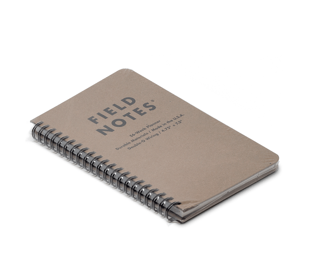 Field Notes 56 Week (Dateless) Planner. Compendium Design Store, Fremantle. AfterPay, ZipPay accepted.