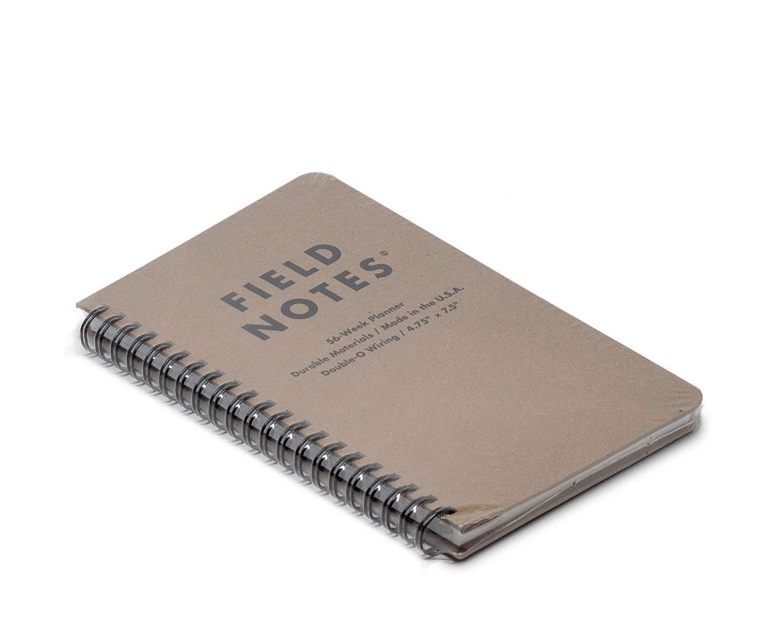 Field Notes 56 Week (Dateless) Planner. Field Notes. Compendium Design Store. AfterPay, ZipPay accepted.