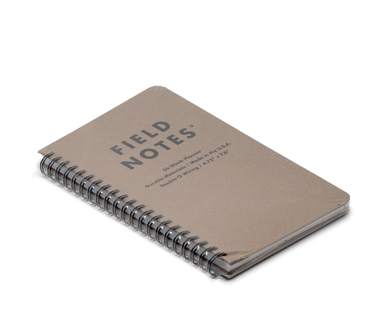 Field Notes 56 Week (Dateless) Planner