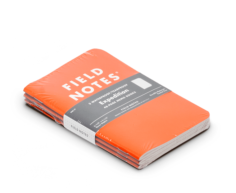 Field Notes notebooks Expedition Edition