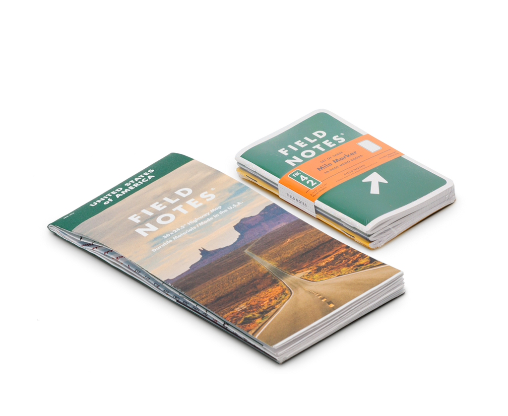 Field Notes Notebooks 'Mile Marker' Edition · 3-Pack. Compendium Design Store, Fremantle. AfterPay, ZipPay accepted.