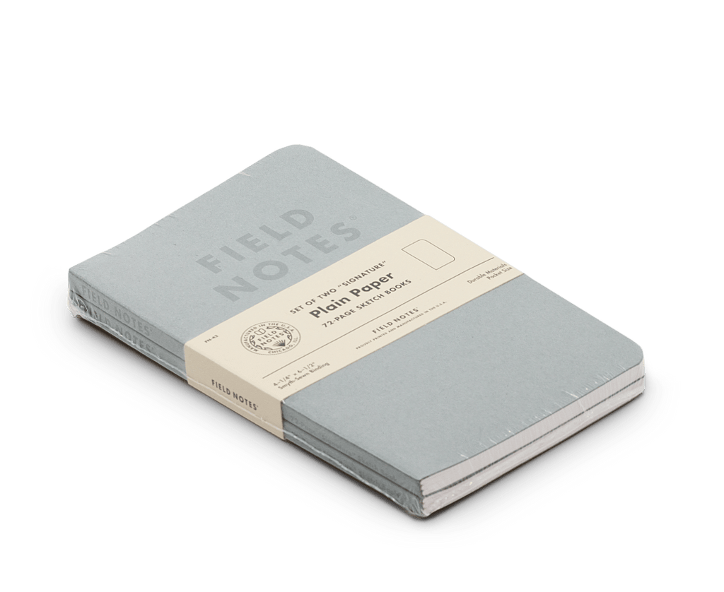 Field Notes Notebooks Signature Edition 2-Pack. Compendium Design Store, Fremantle. AfterPay, ZipPay accepted.