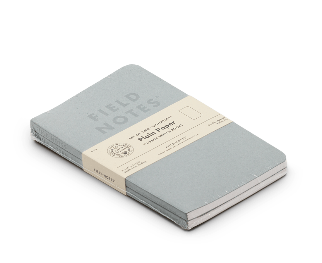 Field Notes notebooks Signature Edition 2 Pack