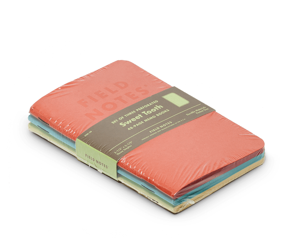 Field Notes notebooks Sweet Tooth Edition. Field Notes. Compendium Design Store. AfterPay, ZipPay accepted.