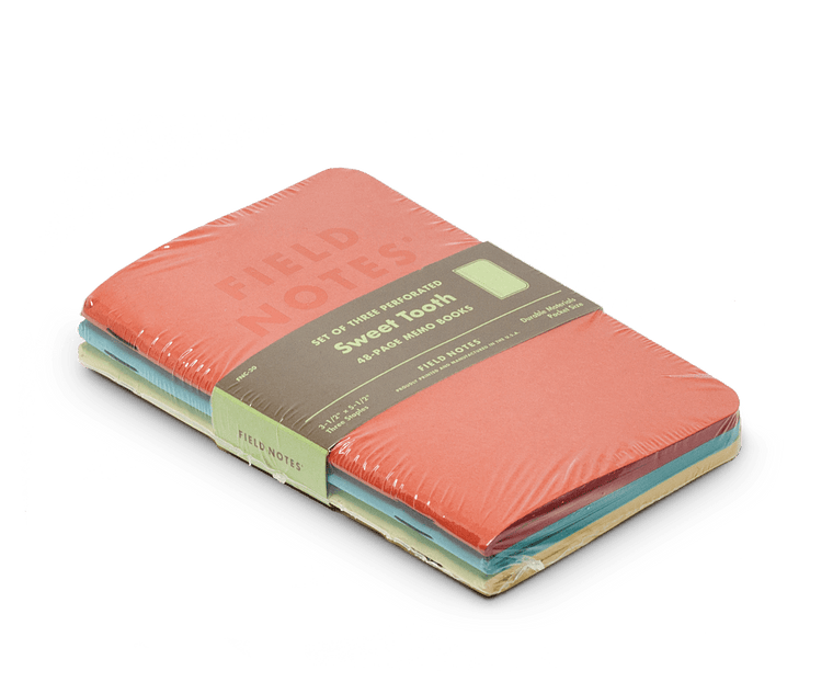 Field Notes notebooks Sweet Tooth Edition