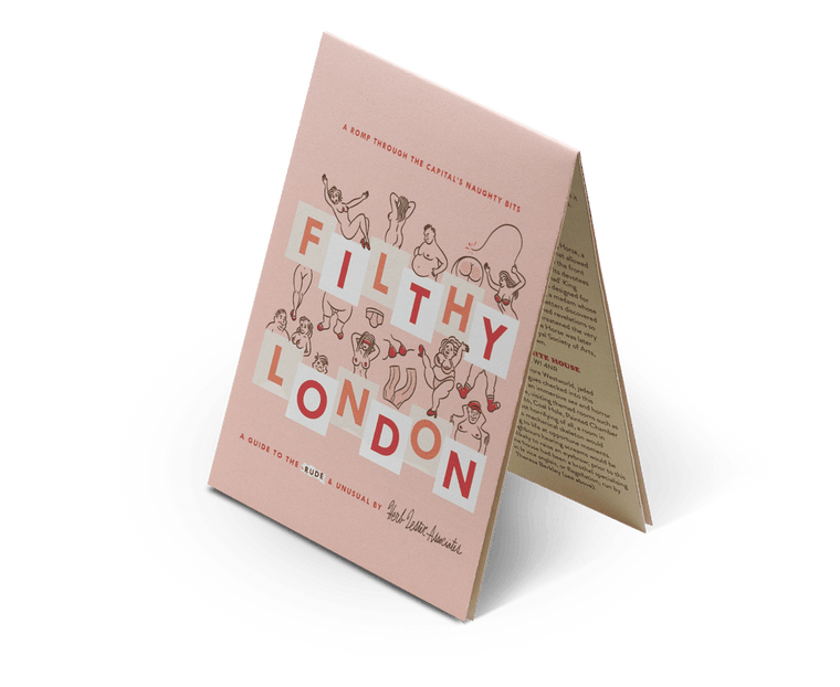 Filthy London. City Guide & Map by Herb Lester Second Edition