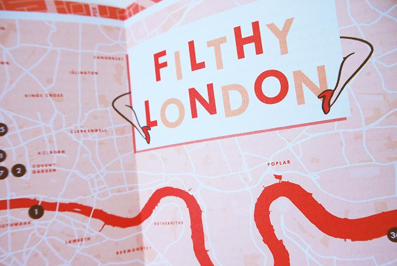 Filthy London. City Guide & Map by Herb Lester Second Edition. Herb Lester. Compendium Design Store. AfterPay, ZipPay accepted.