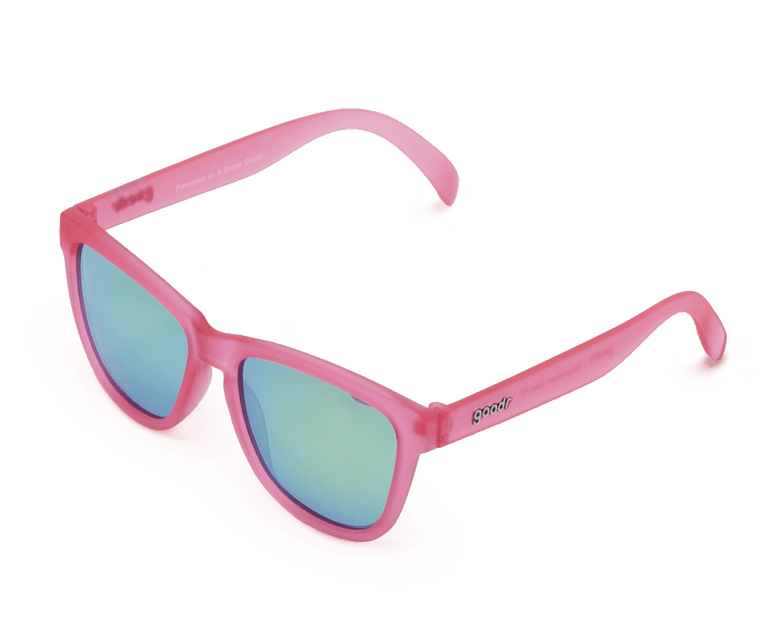 Goodr 'Flamingos on a Booze Cruise' OG Sunglasses