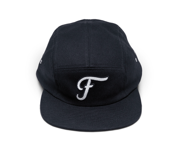 Freo Five Panel Camp Cap in Midnight