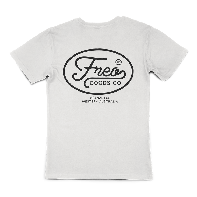 Freo Goods Co Organic Cotton Tee #1 in Natural
