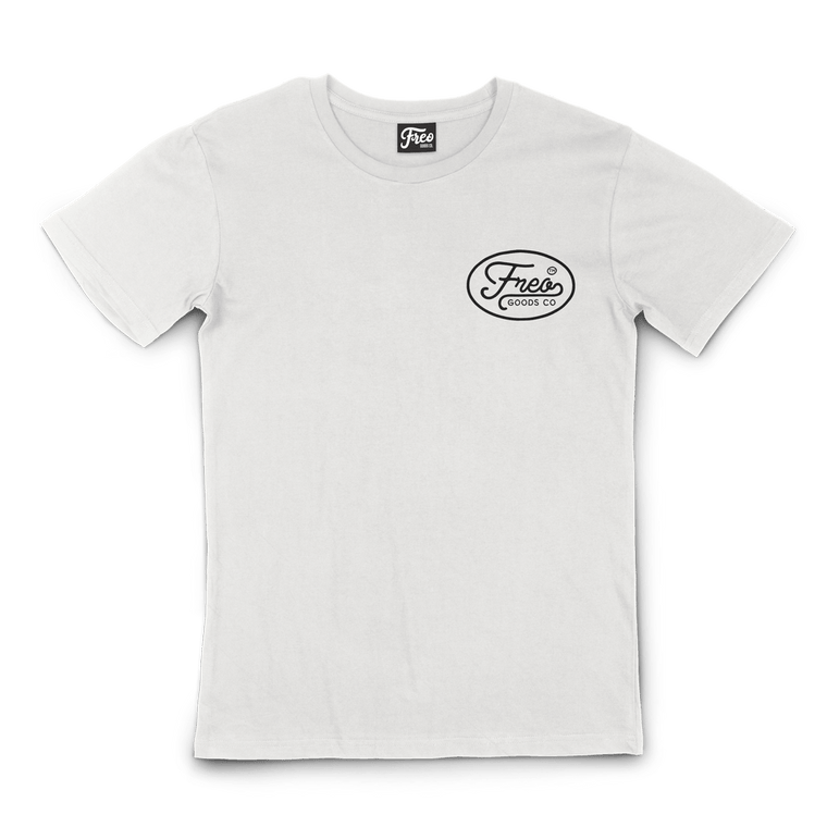 Freo Goods Co Organic Cotton T-Shirt #1 in Natural