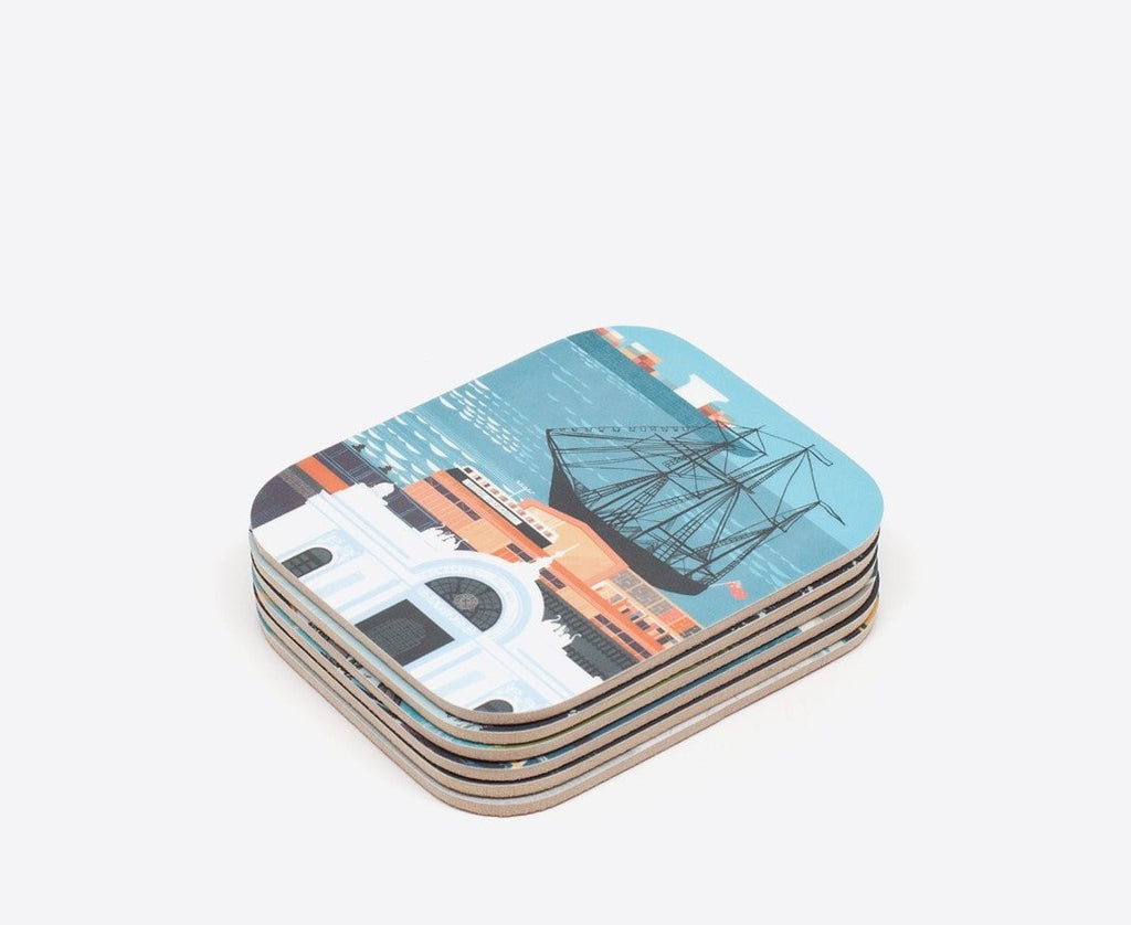 FutureShelter Perth Home Fremantle Coasters by FutureShelter