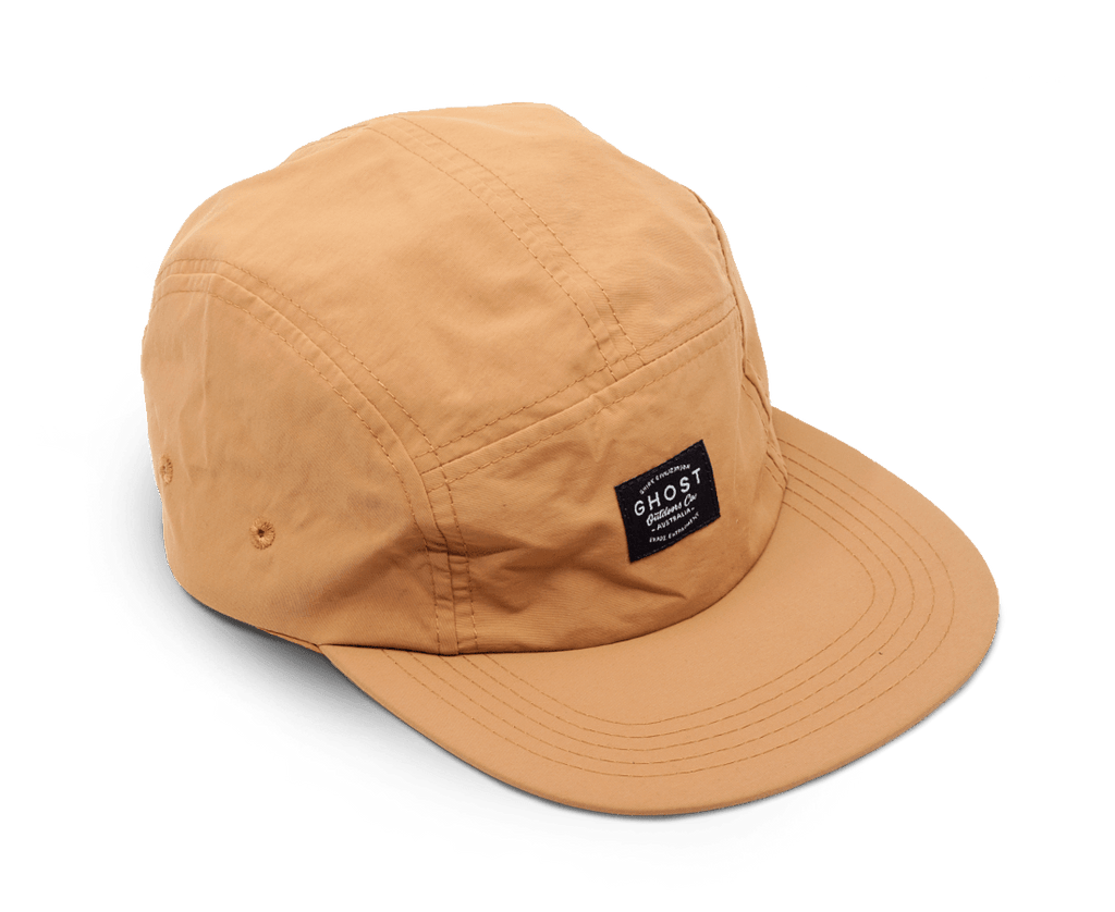 Ghost Outdoors 5-Panel Cap. Compendium Design Store, Fremantle. AfterPay, ZipPay accepted.