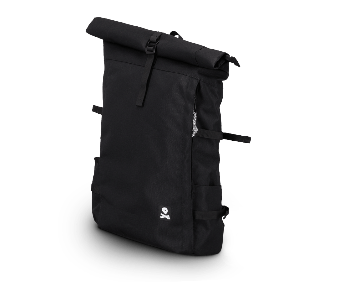 Ghost Outdoors The Ultimate Black Rucksack. Compendium Design Store, Fremantle. AfterPay, ZipPay accepted.