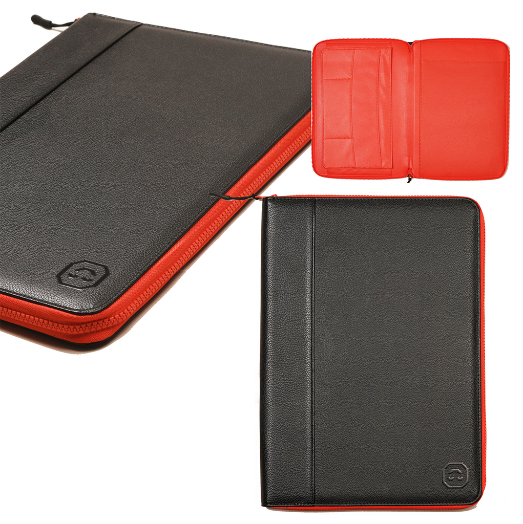 Gracious Minds Vegan Leather Compendium Work Folder. Compendium Design Store, Fremantle. AfterPay, ZipPay accepted.