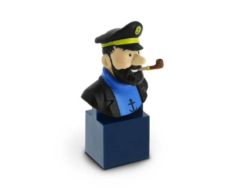 Bust Figurine of Captain Haddock