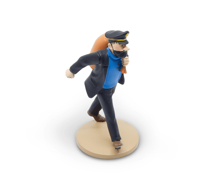 Captain Haddock On The Way Resin