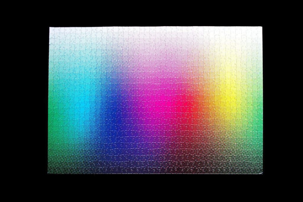 1000 Halftone Colours Puzzle by Clemens Habicht. Compendium Design Store, Fremantle. AfterPay, ZipPay accepted.