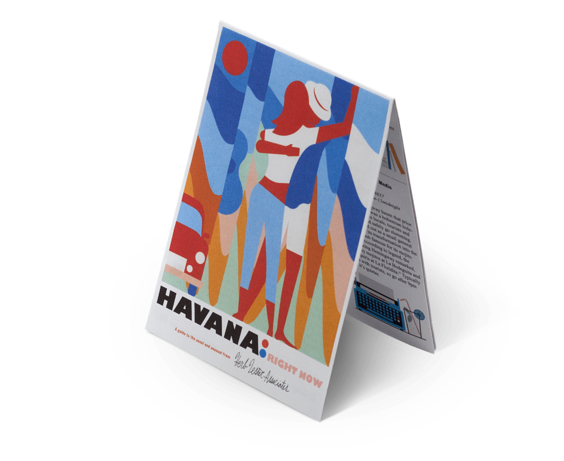 Havana: Right Now. City Guide & Map by Herb Lester. Compendium Design Store, Fremantle. AfterPay, ZipPay accepted.