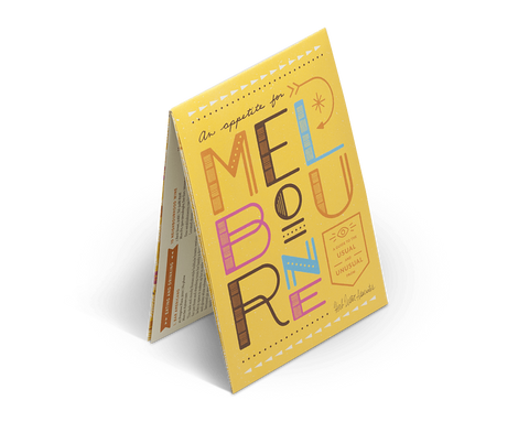 An Appetite for Melbourne. City Guide & Map by Herb Lester