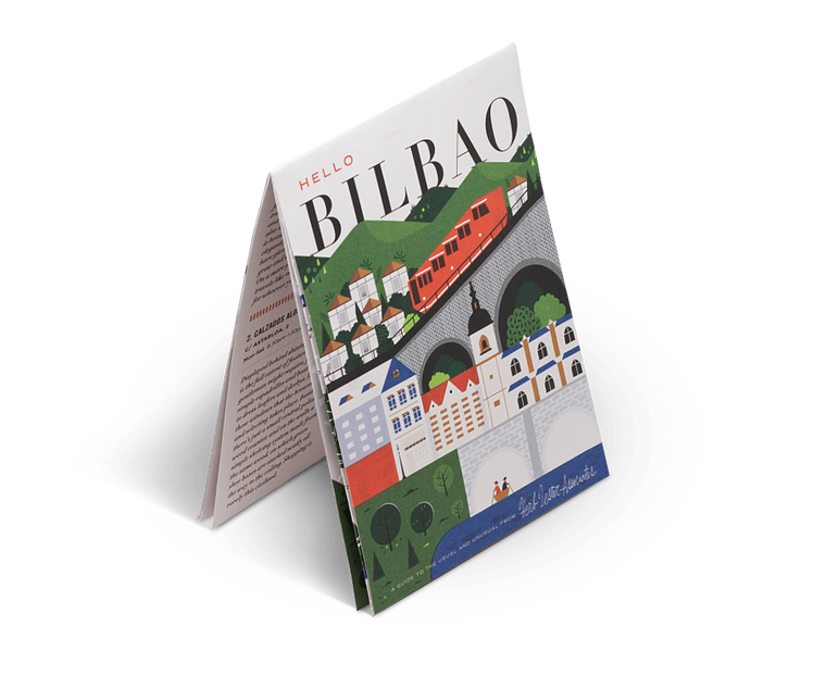 Hello Bilbao. City Guide & Map by Herb Lester