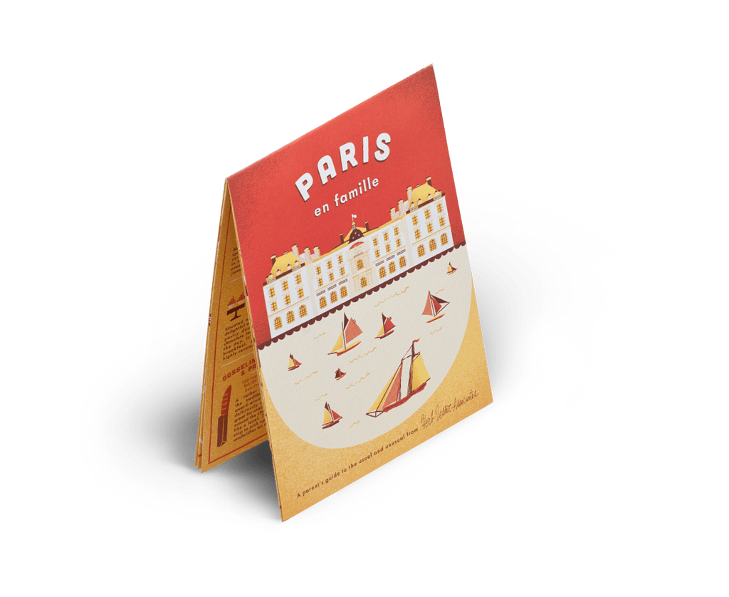 Paris en Famille. City Guide & Map by Herb Lester. Compendium Design Store, Fremantle. AfterPay, ZipPay accepted.