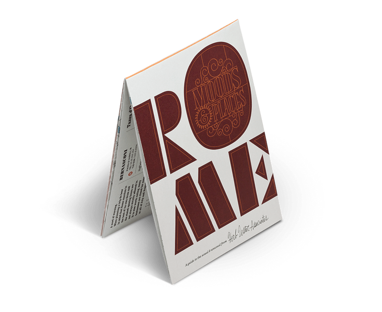Rome: Moods & Places. City Guide & Map by Herb Lester